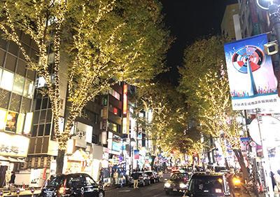 渋谷イルミネーション 点灯!!