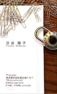 デザイン名刺 カジュアル DCT-012