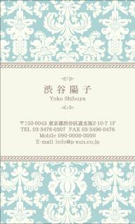 デザイン名刺 カジュアル DCT-031