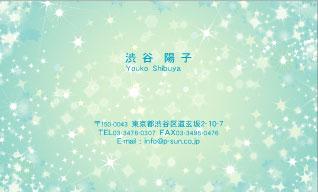 デザイン名刺 カジュアル DCY-012