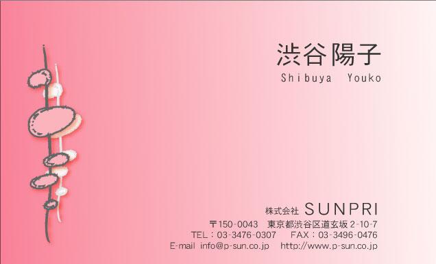 デザイン名刺 カジュアル DCY-022