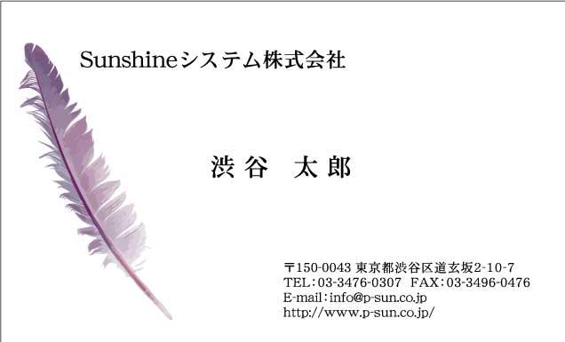 デザイン名刺 カジュアルDCY-065