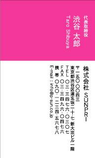 デザイン名刺スタンダード DT-010