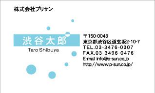 デザイン名刺スタンダード DY-010