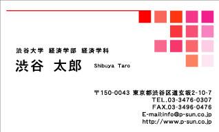 デザイン名刺スタンダード DY-018