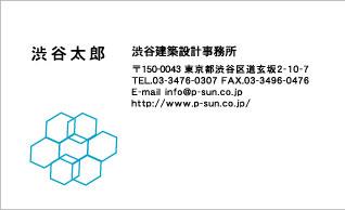 デザイン名刺スタンダード DY-036